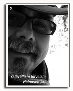 Ari H. Heinonen Maantiesusi 5