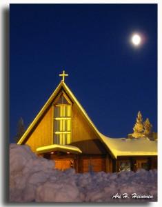 Maantiesusi 10 Saariselän Tunturikappeli, Pyhän Paavalin kappeli